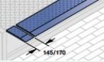 Тип SG, с отдельными сегментами аппарели