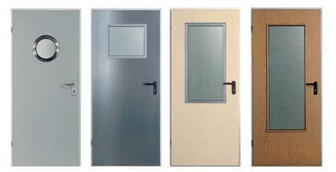 двери металлические внутренние для жилых и общественных зданий